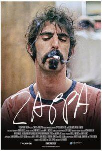 Frank Zappa Movie Poster