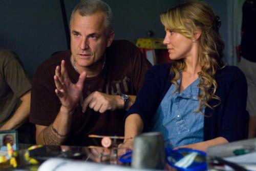 Nick directing Cameron Diaz