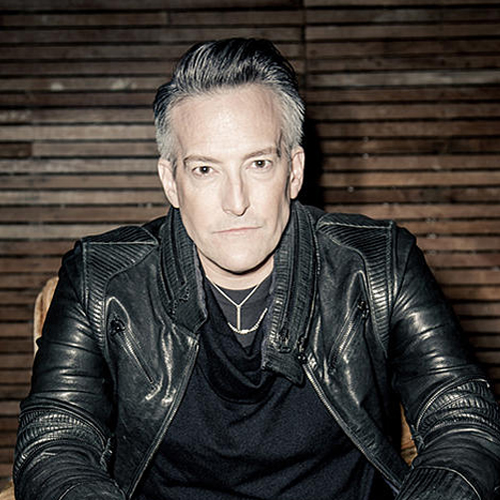 Rock and Roll Hall of Fame inductee Richard Patrick of Filter